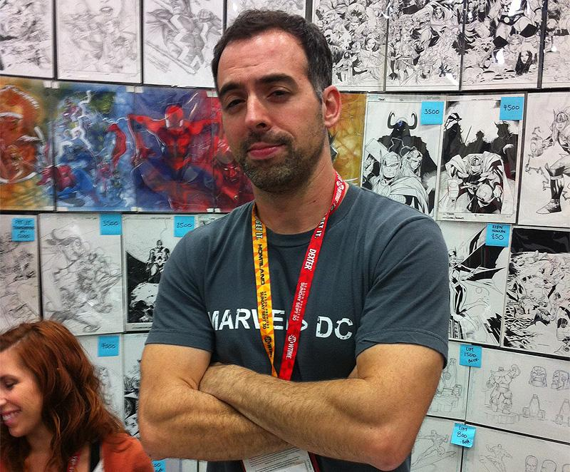 Joe Madureira es un popular artista de cómics y videojuegos.