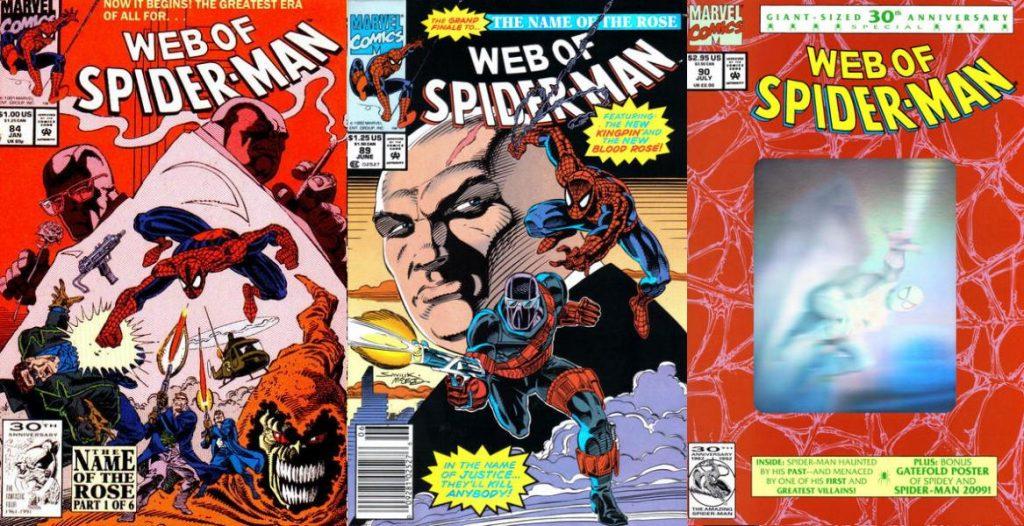 En 1994 inició su polémica etapa como escritor de Spider-Man en las páginas de Web of Spider-Man.