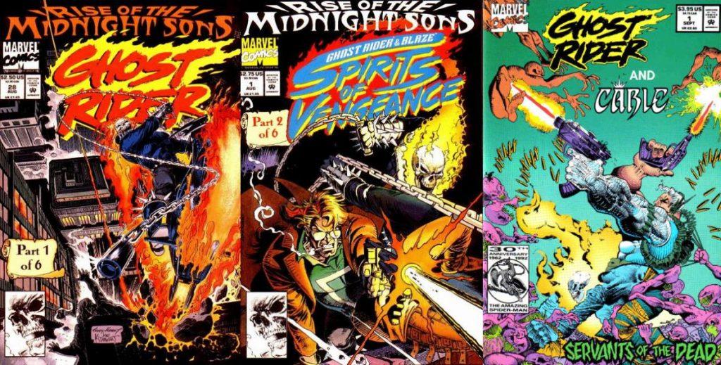 El éxito de Ghost Rider propició una segunda serie un par de años después.
