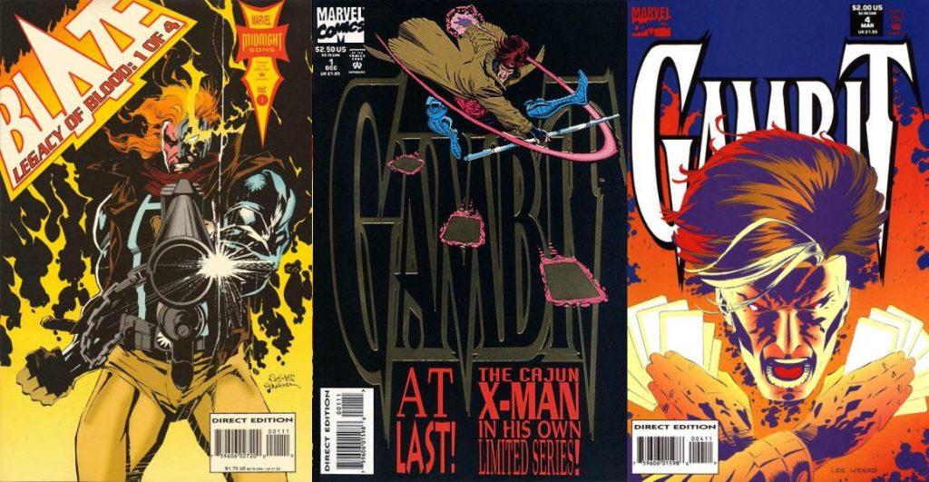 Su interés por Gambit nació cuando co-escribió un crossover entre Ghost Rider y los X-Men.