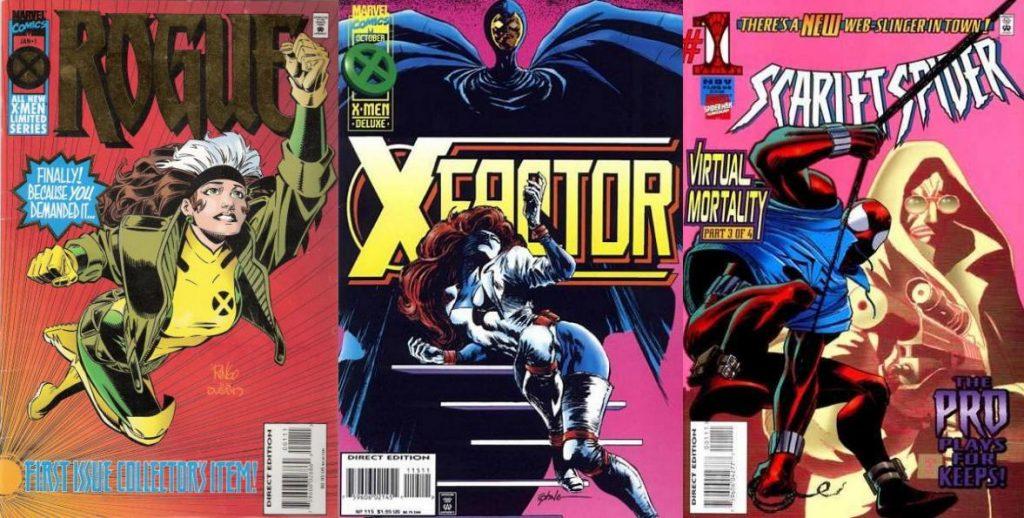 Además de varias miniseries de mutantes, Mackie escribió X-Factor por casi tres años.