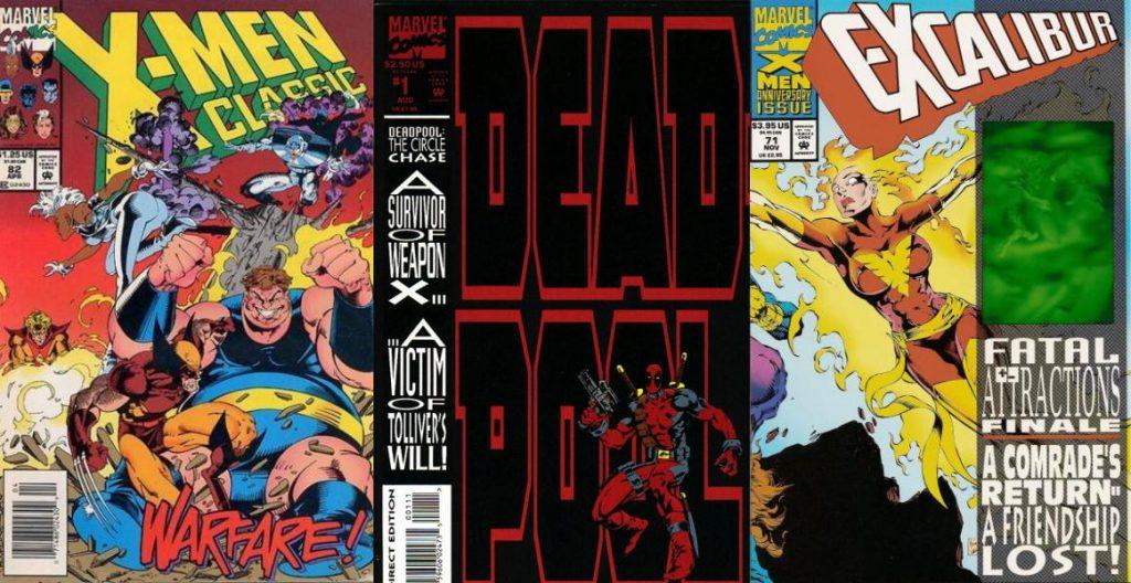 En medio de portadas mutantes, sobre todo, su primera asignación importante fue la miniserie Deadpool: The Circle Chase.