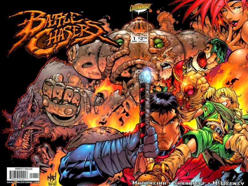 Battle Chasers fue su primera creación propia, pero nunca pudo publicarlo con regularidad.