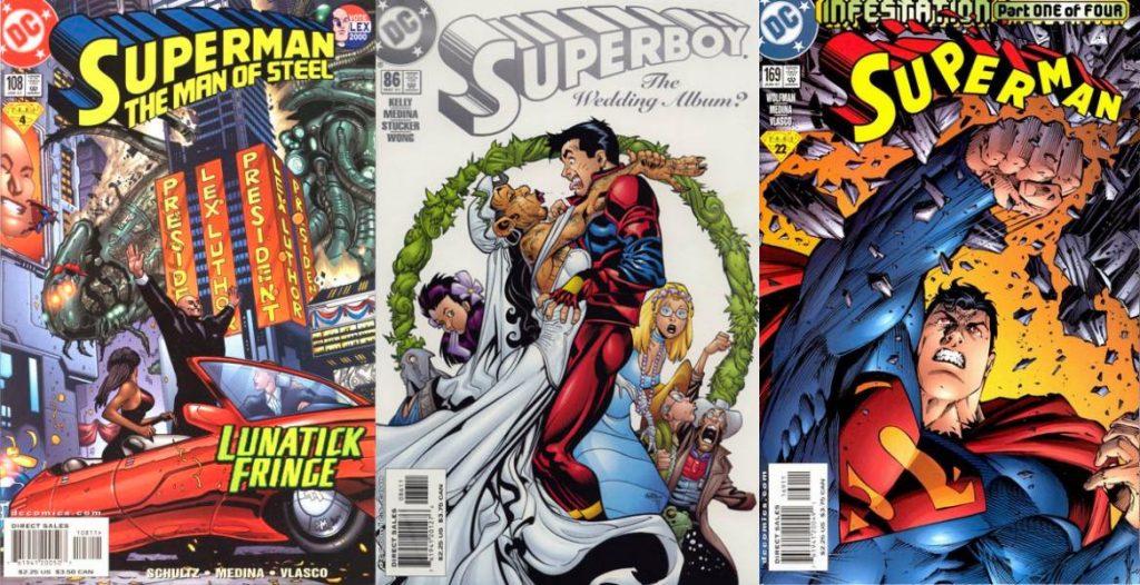 El inicio de su carrera está ligado de forma definitiva a Superman.