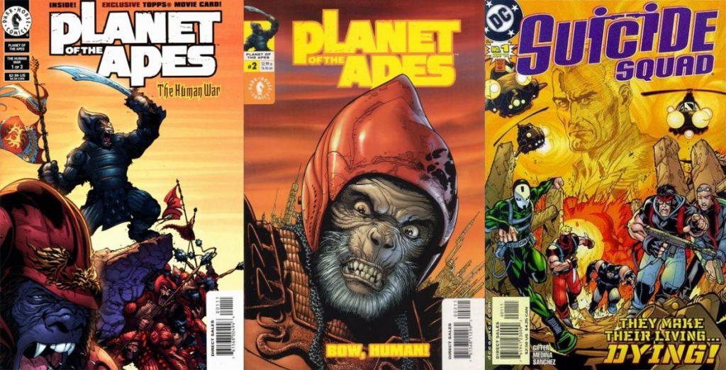 Tras Planet of the Apes para Dark Horse, Suicide Squad representó su primera serie regular.