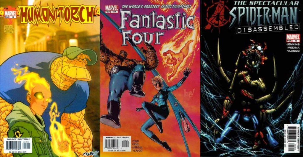 La primera familia de Marvel y Spider-Man también han sido engalanados por sus trazos.