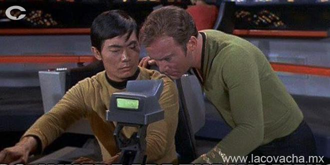"""- Sulu, desde que implementamos la política """"Si no preguntas no digo"""" estás muy callado..."""