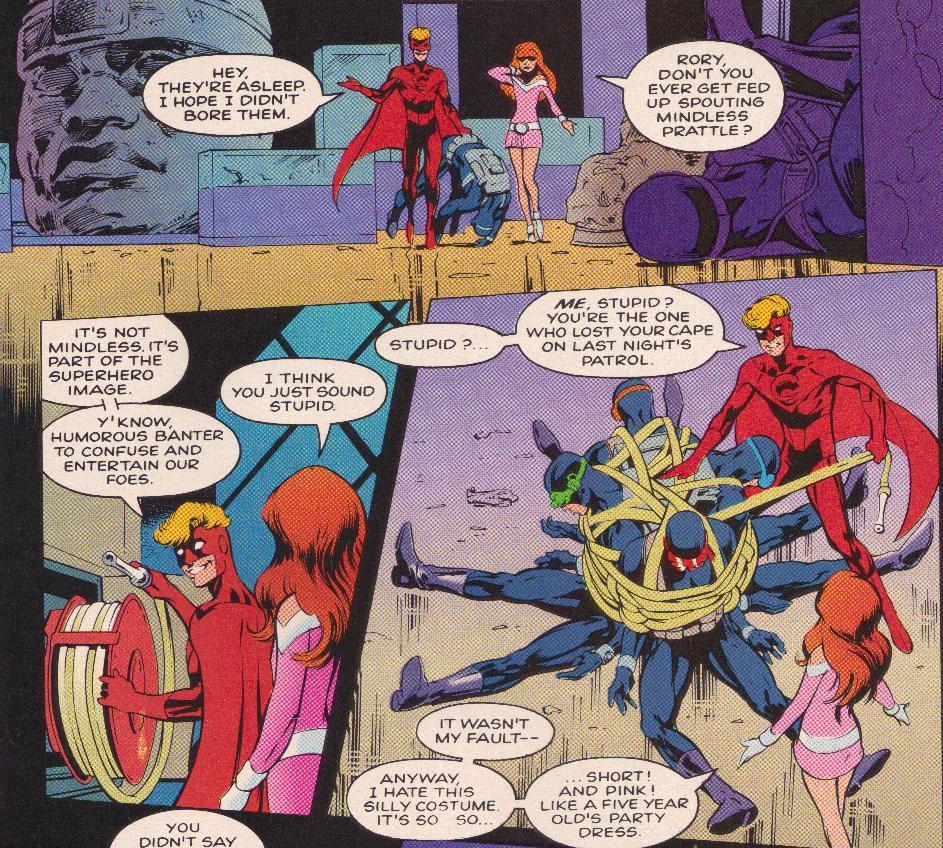 Rory y Pandora hacen lo que cualquier adolescente con superpoderes: Convertirse en superhéroes.