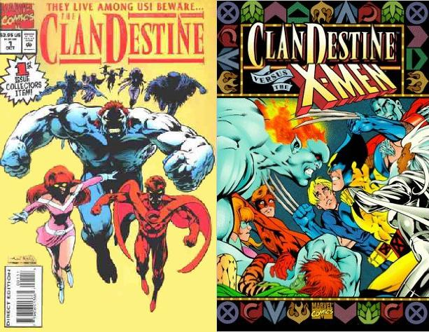 Tras la serie regular, Marvel intentó revivir el título con un crossover.