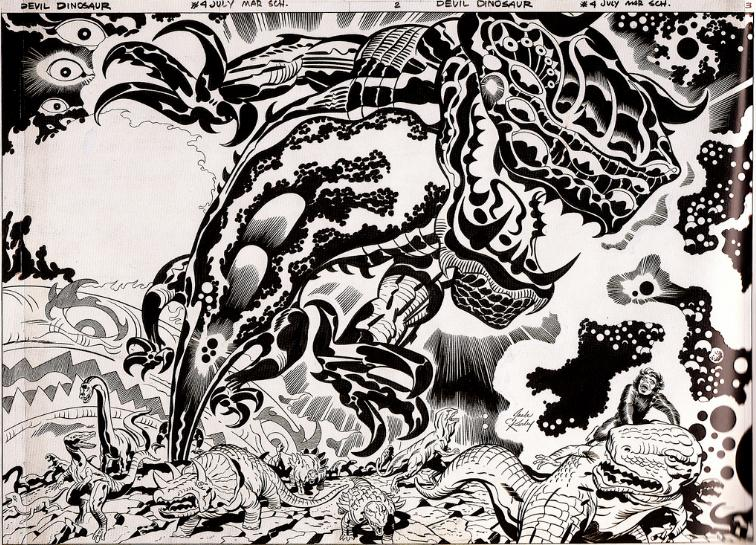 jack-kirby-original-art-devil-dinosaur-4