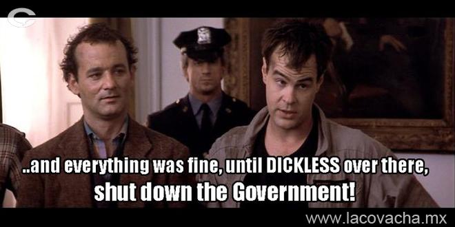 La verdad sobre el gobierno según Cazafantasmas (y si ese comentario lo hacen en la nueva, sería feminista)