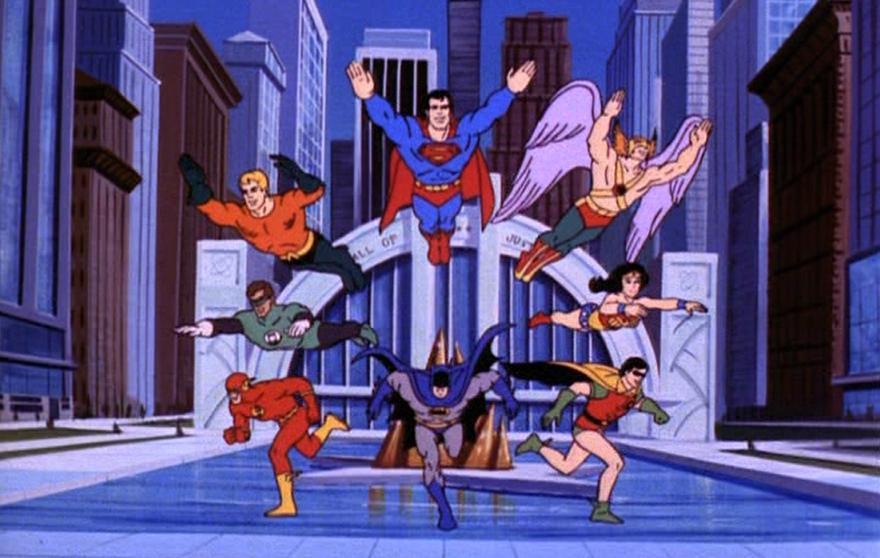El Hall of Justice era el cuartel de operaciones de los Super Friends.