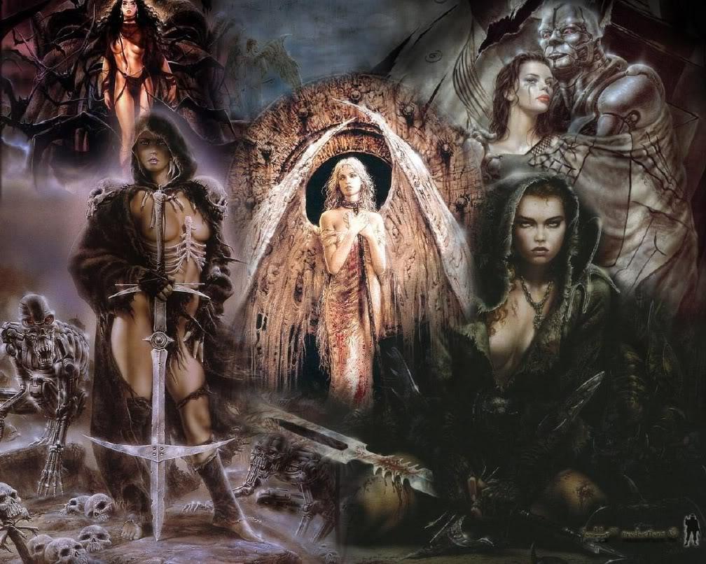 Foyer Des Arts Heavy Metal : Galería luis royo la covacha