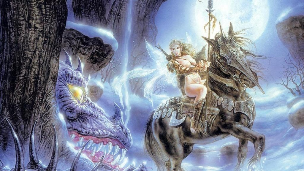 luis-royo-fairy-riding-horse-moon-fantasy-illustrations-gruesome-forest-1920x1080