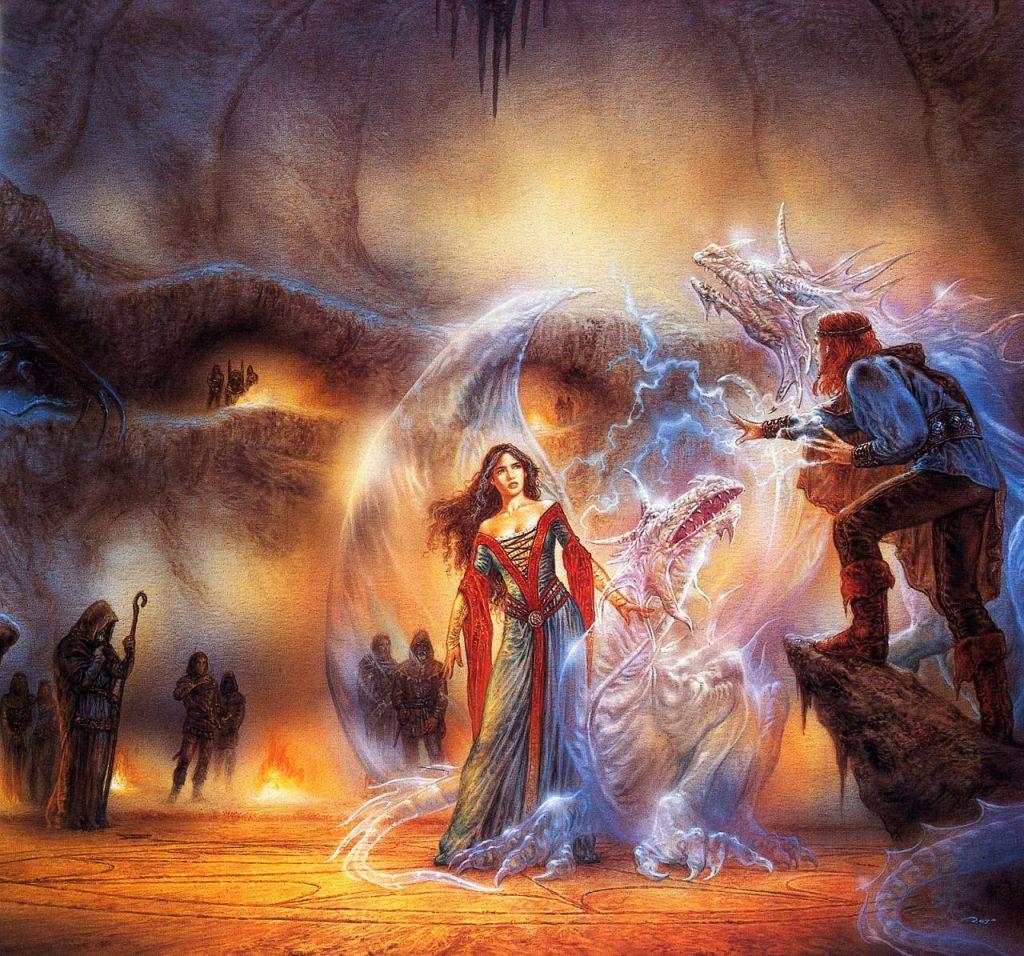 luis_royo_evolution_the wizards treasure (dragon nimbus 4)