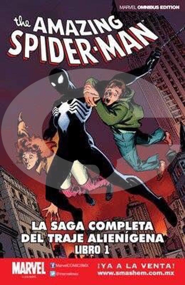Spider-man La Saga Completa del Traje Alienígena