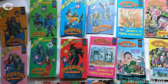 Monstruos de bolsillo, cómics de bolsillo... la originalidad ante todo