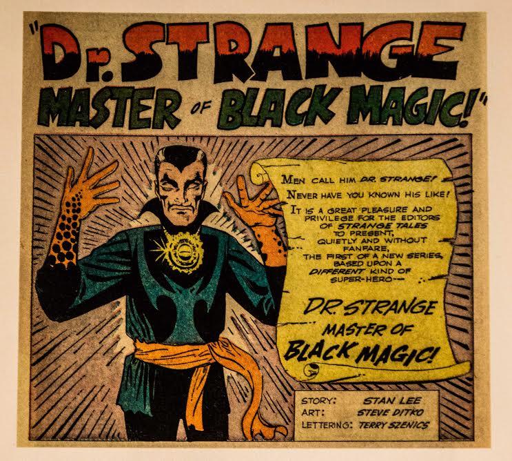 Strange también tuvo su etapa darks