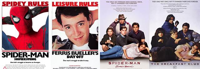 John Hugues y Spider-Man Homecoming