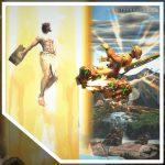 Jesús VS Buda Fight of Gods