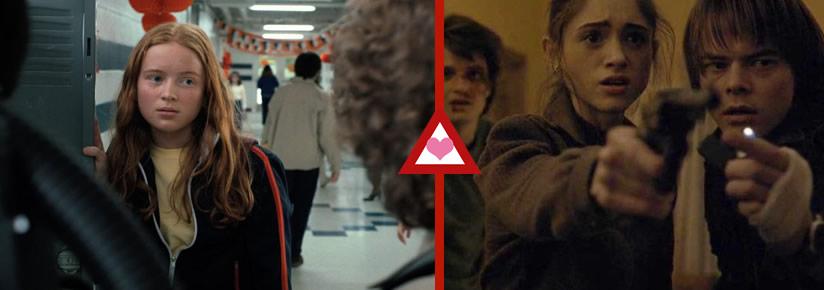 Stranger Things Triángulos Amorosos