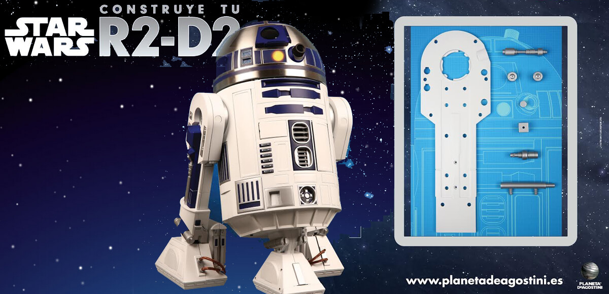 star wars arma tu droide r2 d2 los fasc culos llegan a ForPlaneta De Agostini R2d2