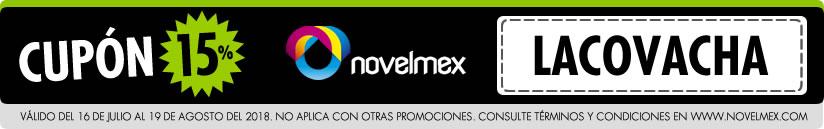 Cupón Novelmex La Covacha